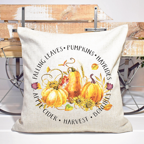 FALL IN A CIRCLE PILLOW