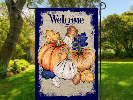 Blue and Orange Decorating Tips