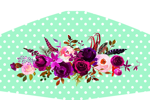 FLOWERS WITH POLKA DOTS
