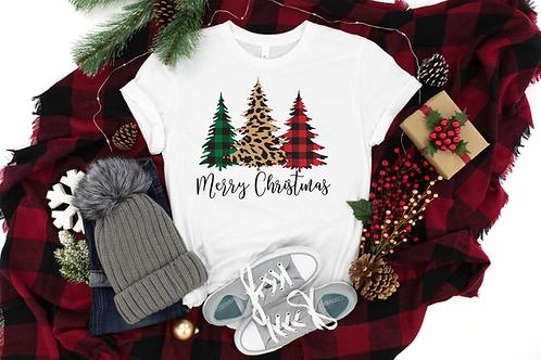 CHRISTMAS TREES TSHIRT