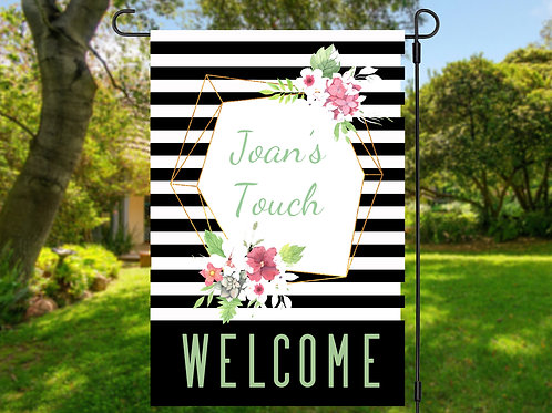 JOAN'S TOUCH WELCOME FLAG