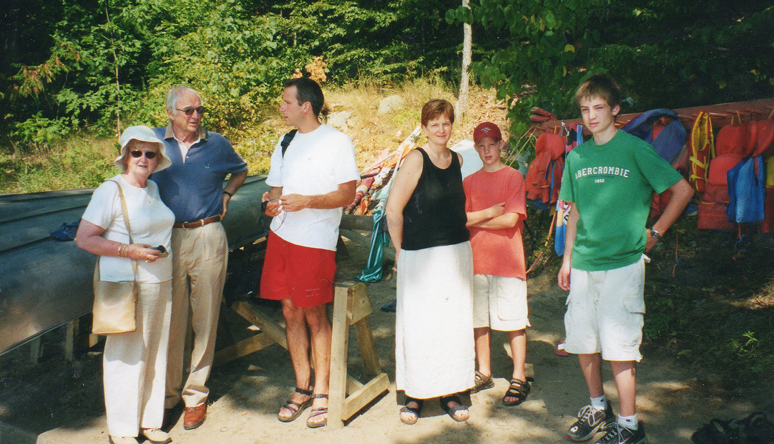 Stewart/Goodfellow Family with Robin