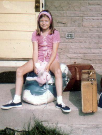 Mary Stewart, 1970, age 9