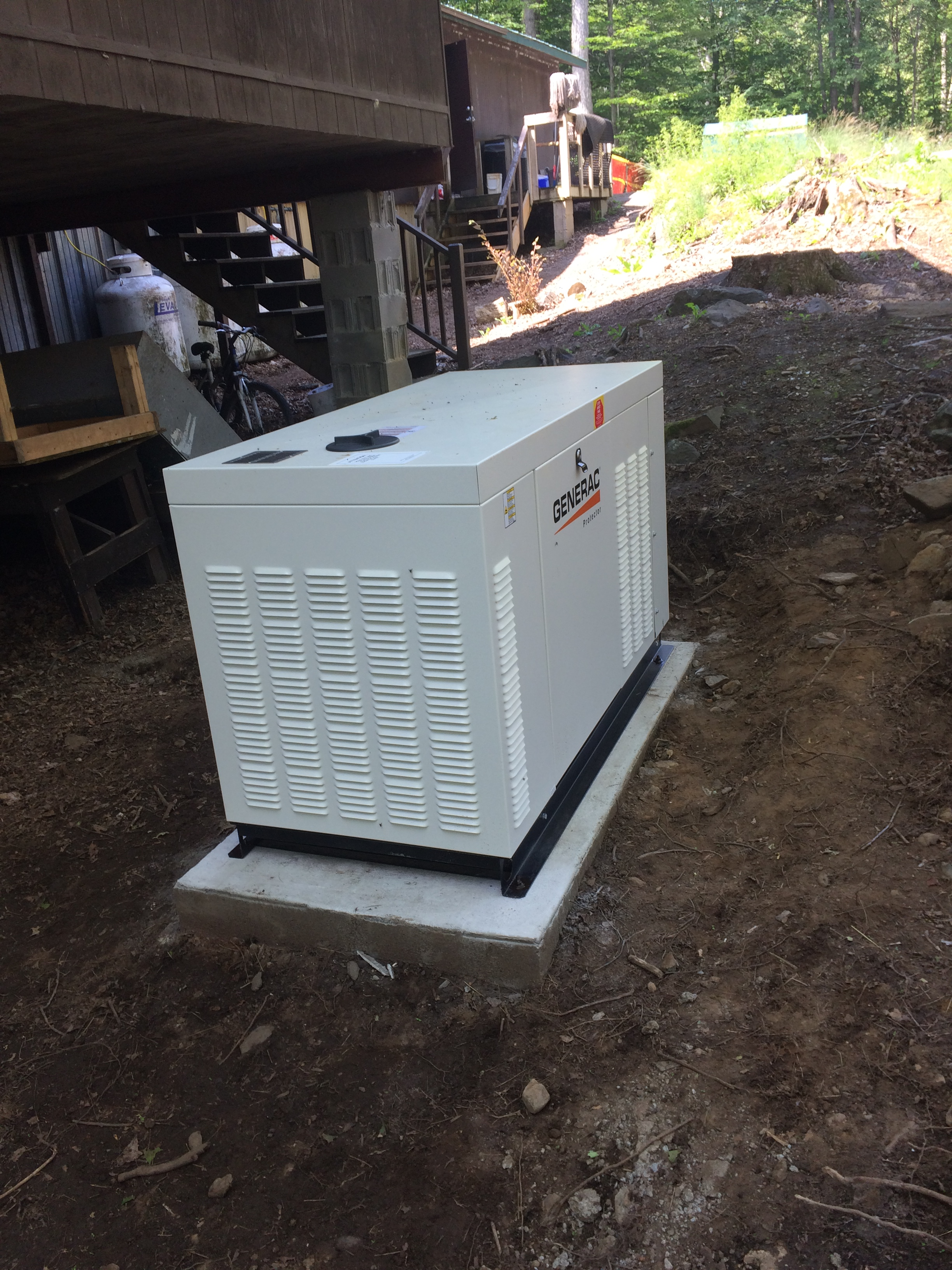New Back Up Power Generator