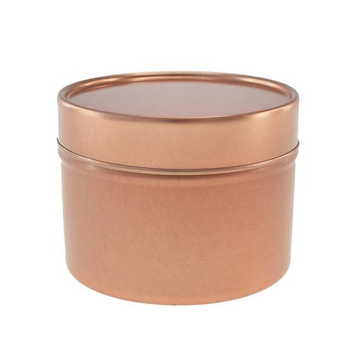 Packs - 3.5oz Rose Gold Tin with Lid
