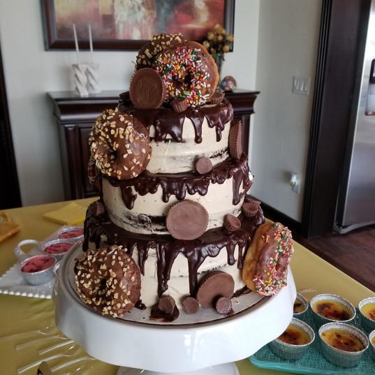 Donuts Cake - Maribel Castañeda