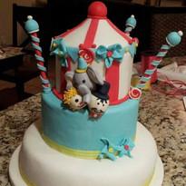 Carnival Cake - Maribel Castañeda