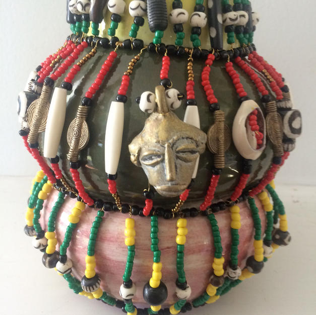 African Inspirations Vase