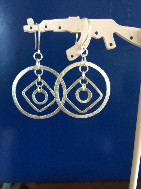 Kinetic Geometric Earrings