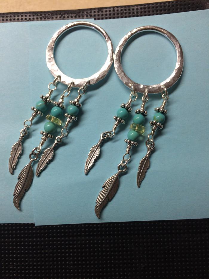 Feather Earrings #1