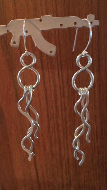 Infinity Wave Earrings