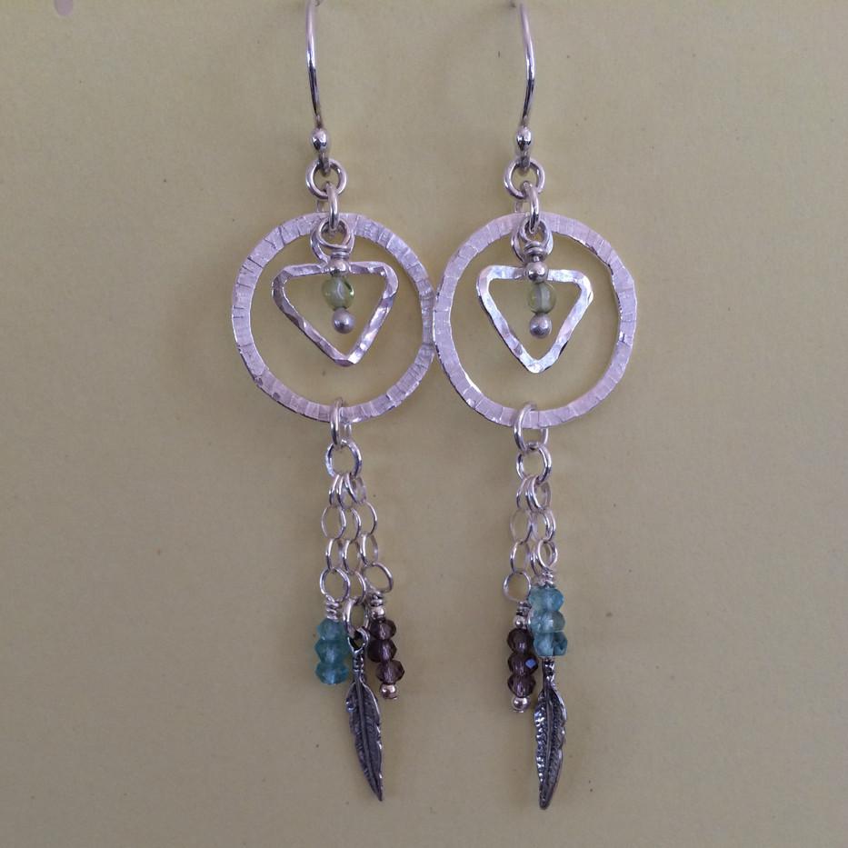 Feather Earrings #2