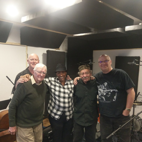 Land of Enchantment CD Recording session with Arlen Asher, Andy Zadrozny, Pete Amahl and Steve Terwilliger