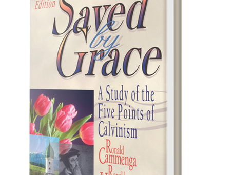 "Podcast: Interview with Prof. R. Cammenga on ""Saved by Grace"" Book"