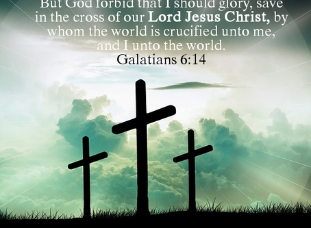 The Cross of Christ and Boasting