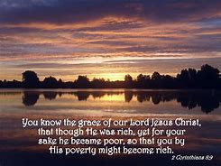 Christ's Poverty, Our Riches