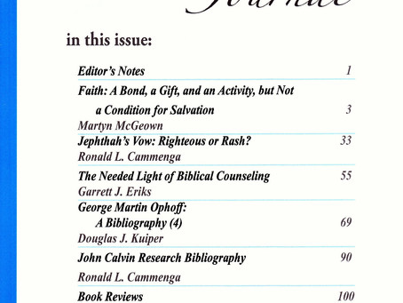 Spring 2019 PR Theological Journal Now Available!