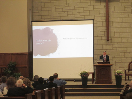 Audio of Dordt400 Messages Now Available!