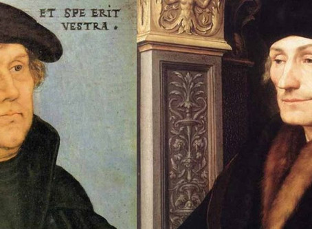 Luther, Erasmus, and the Bondage of the Will