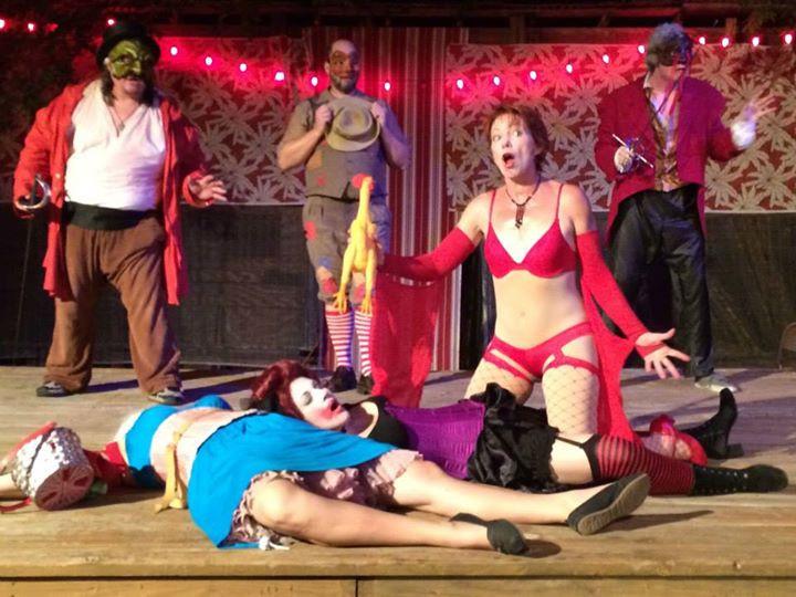 Genevieve as Columbina in Kill the Messenger