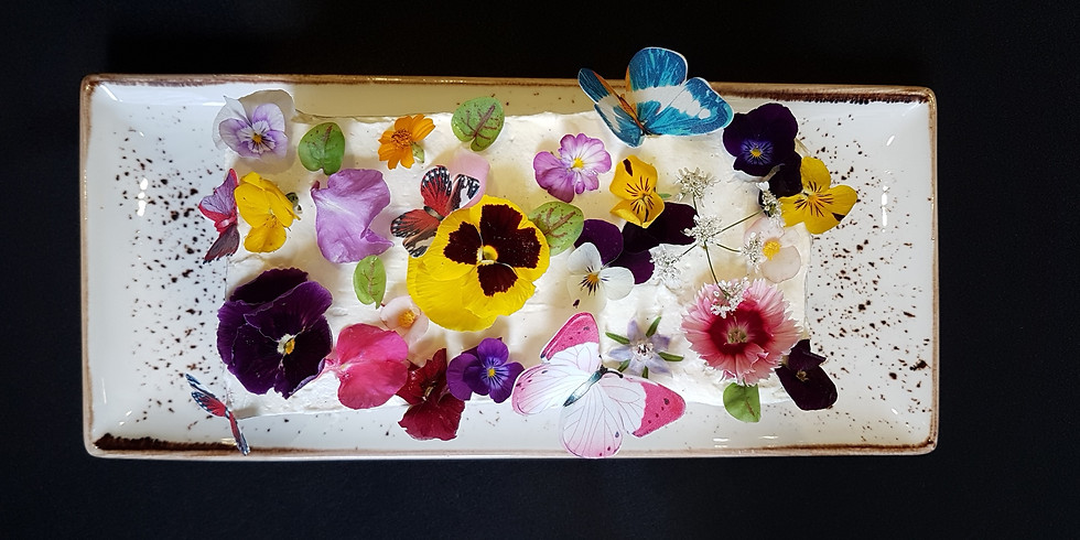 Dali – Flowers – Cake - 達利。花。 蛋糕