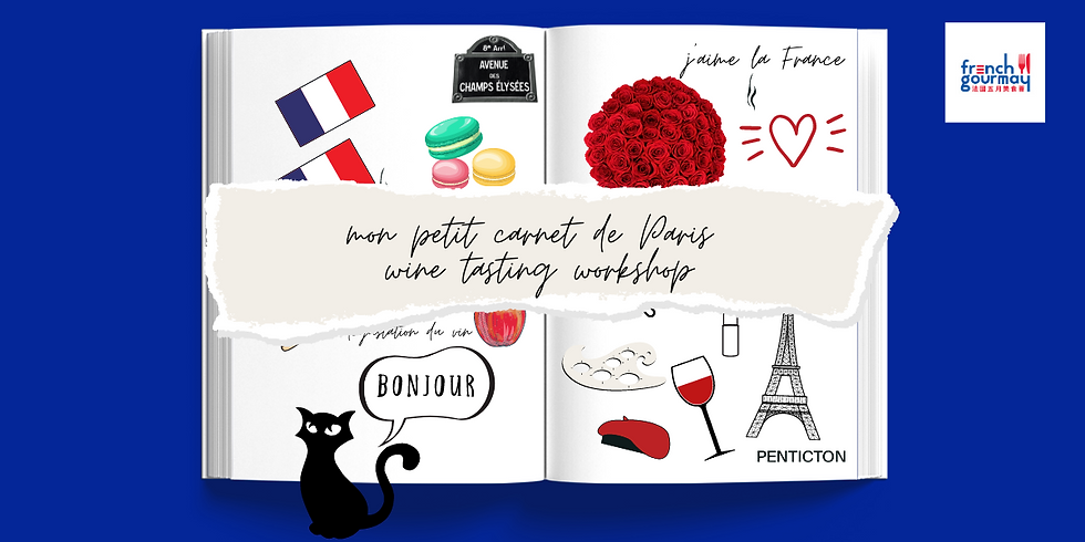 French GourMay Edition - My Little Diary of Paris Wine Tasting Workshop【尋味巴黎】法國五月美食薈品酒工作坊