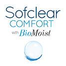 Sofclear Comfort BioMoist Square Button.