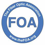 FOA Approved Fiber Optic Training