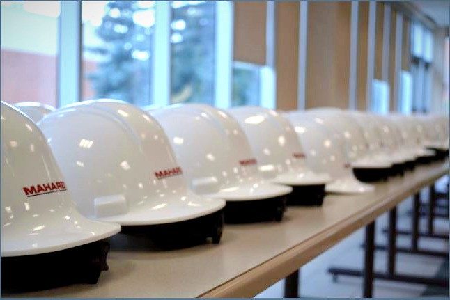 HARD HAT CEREMONY