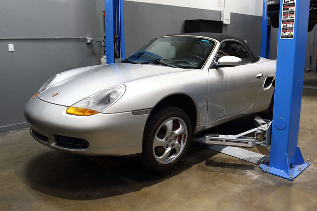 2002 Porsche Boxster Roadster S Engine Replacement