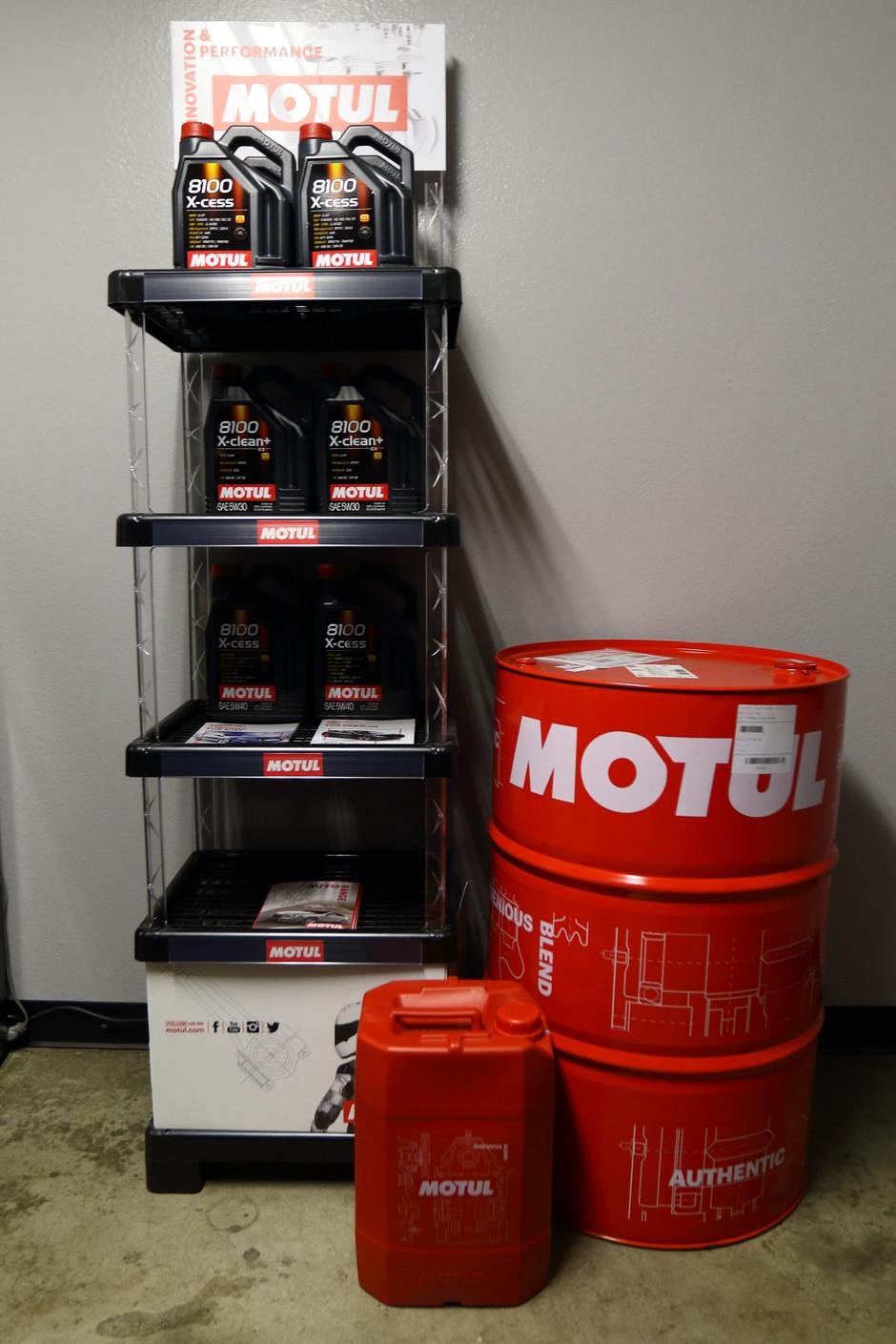 Motul Premium Synthetic Engine Oil in Stock