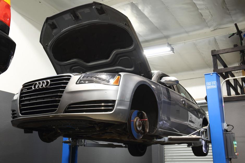 2011 Audi A8 Quattro 55k Mile Service