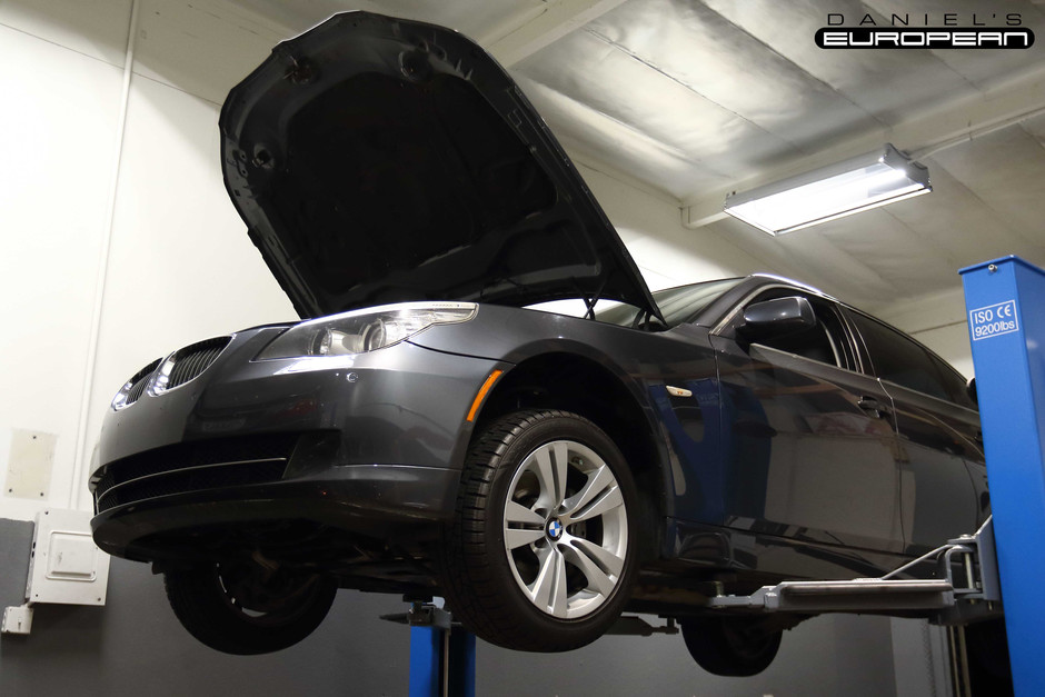 2009 BMW 528i Shift Solenoid Replacement