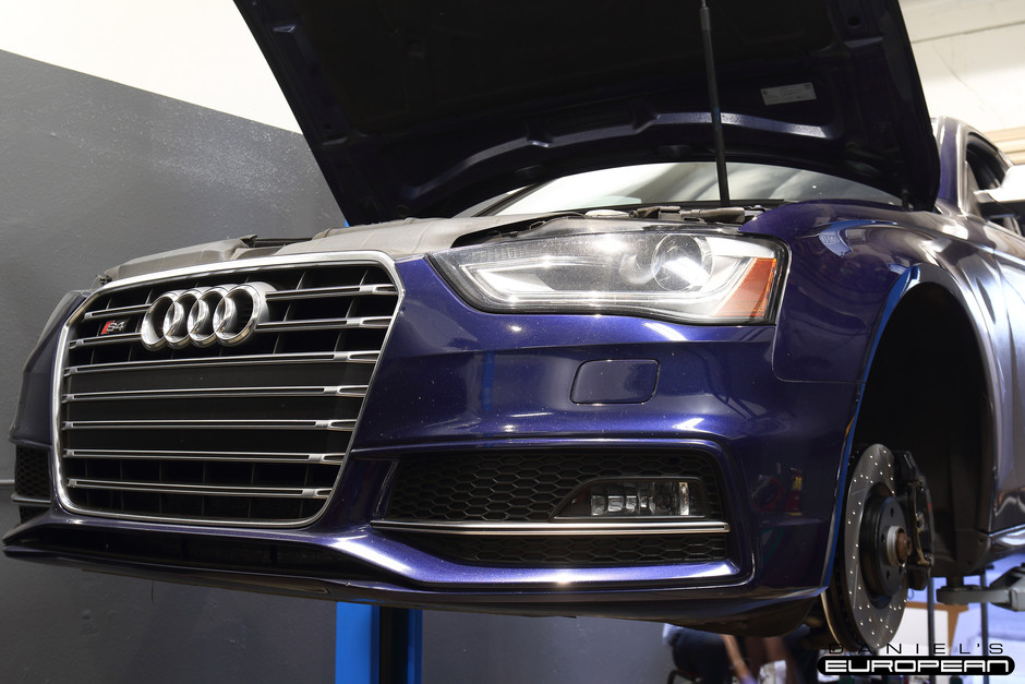 2013 Audi S4 StopTech Sport Brake Rotors & Stainless Steel Brake Line Upgrade