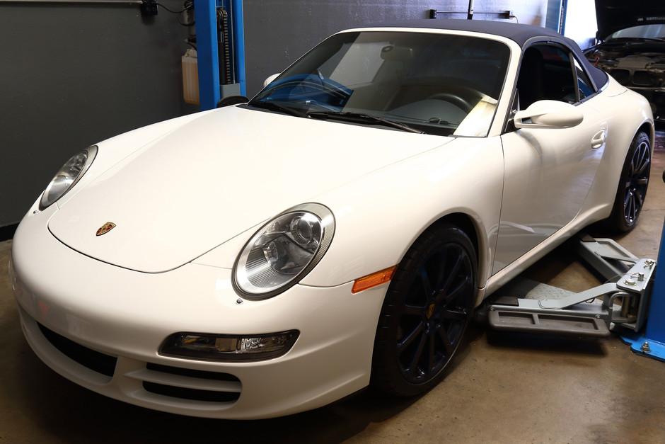 2006 Porsche 997 Carrera 3.6 Spark Plug & Manual Transmission Fluid Replacement Service