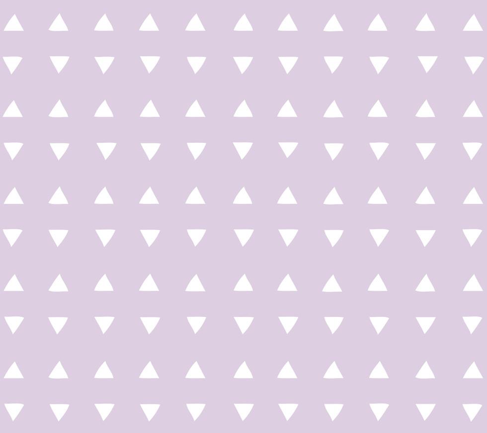 Tiny Triangles . Lilac