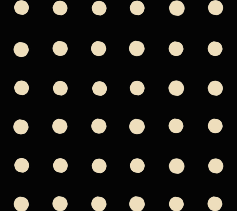 Masai Mara . Ivory Dots . Onyx
