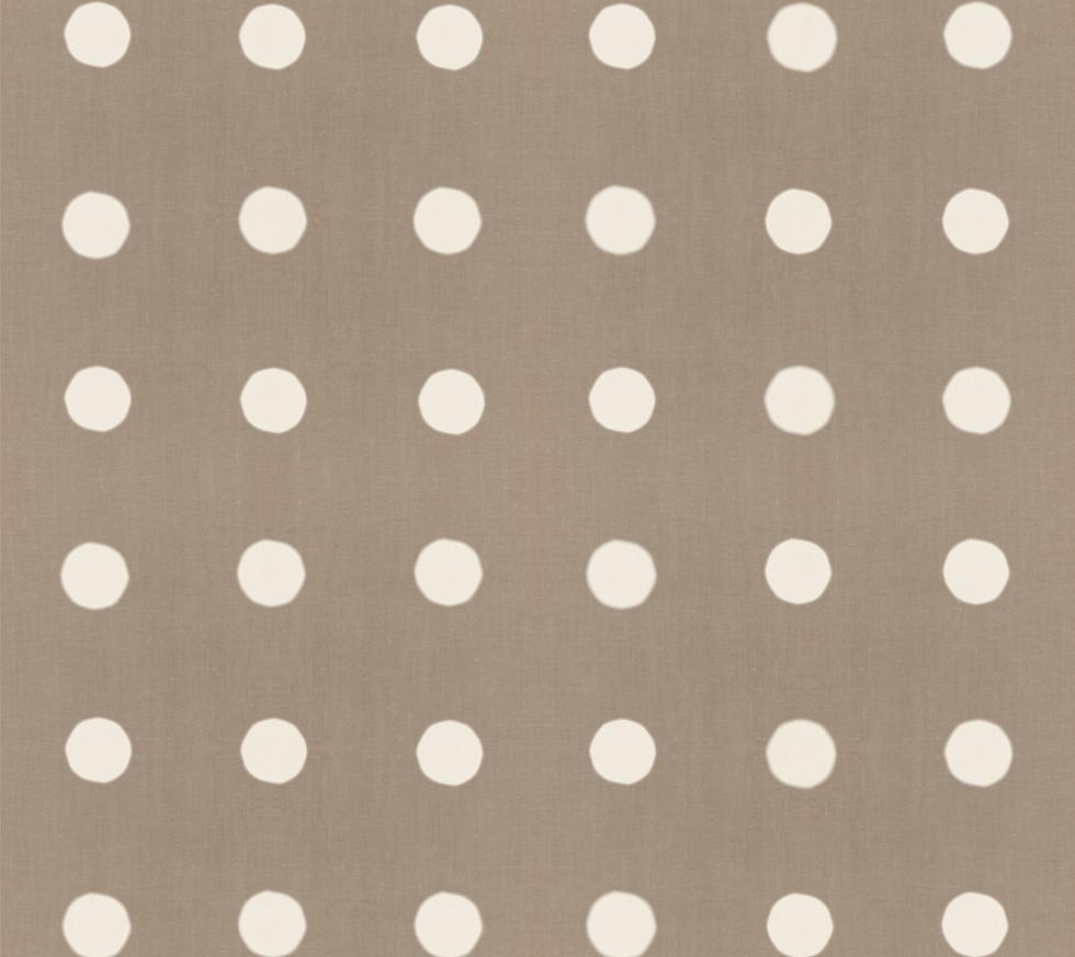 Masai Mara Linen - Ivory Dots . Neutral