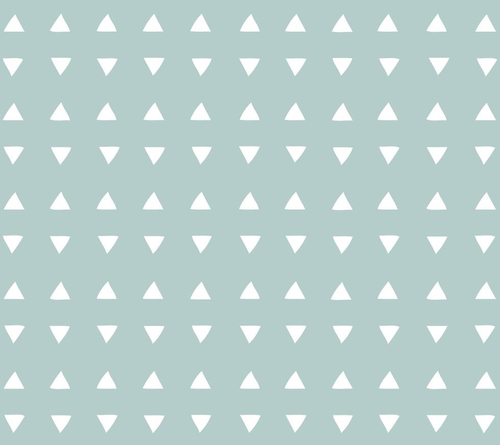 Tiny Triangles . Seaglass