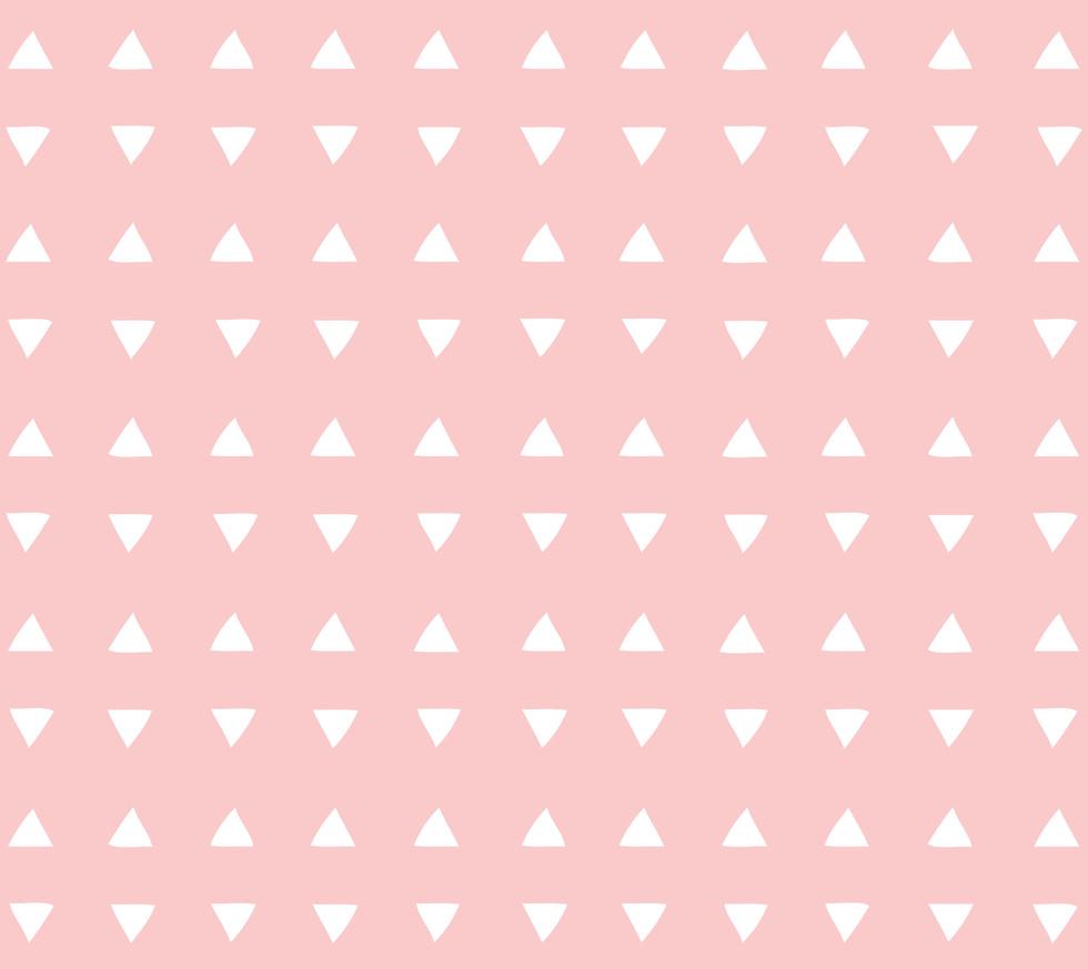 Tiny Triangles . Blush