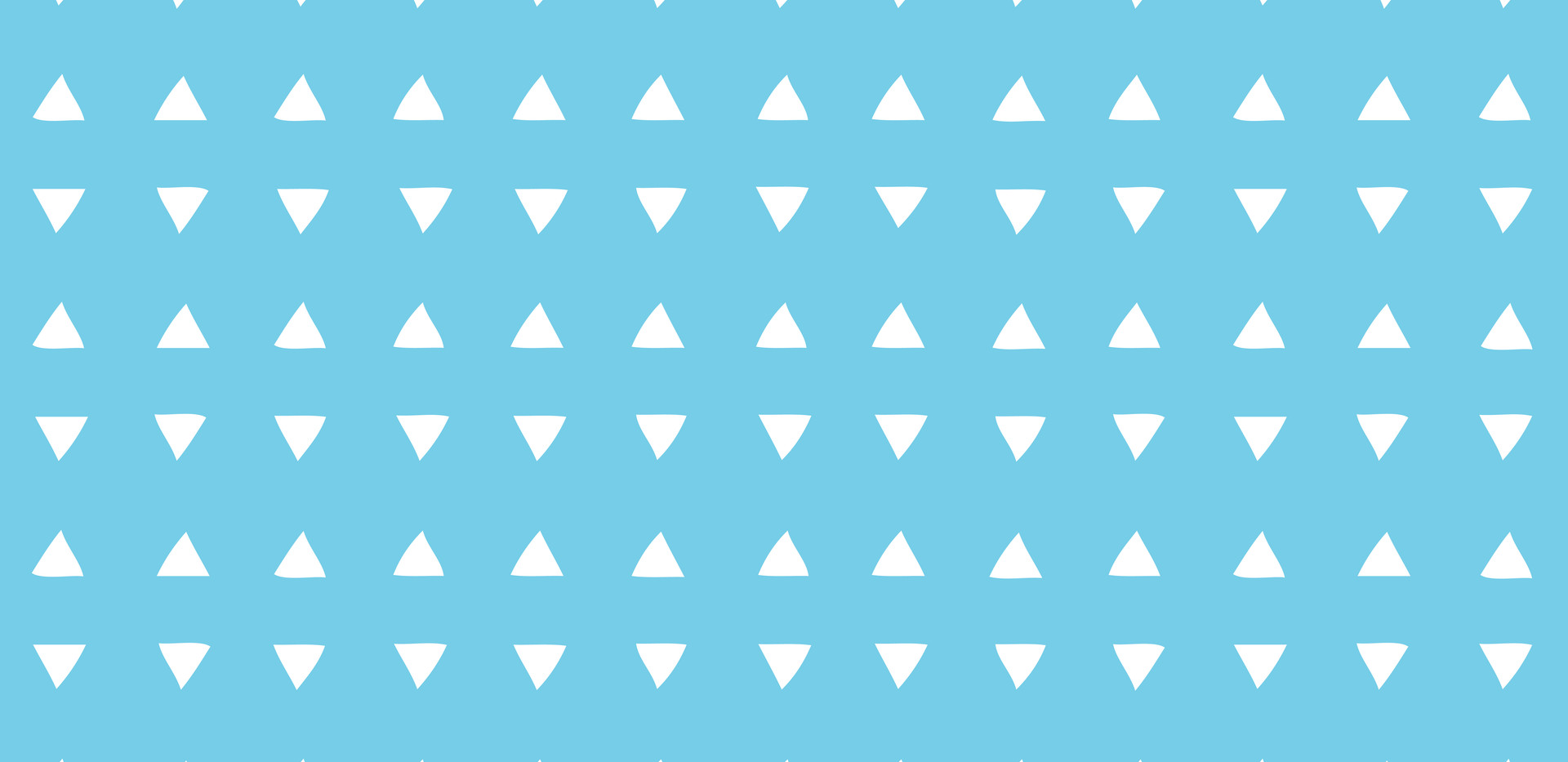 Tiny Triangles . Perfect Turquoise
