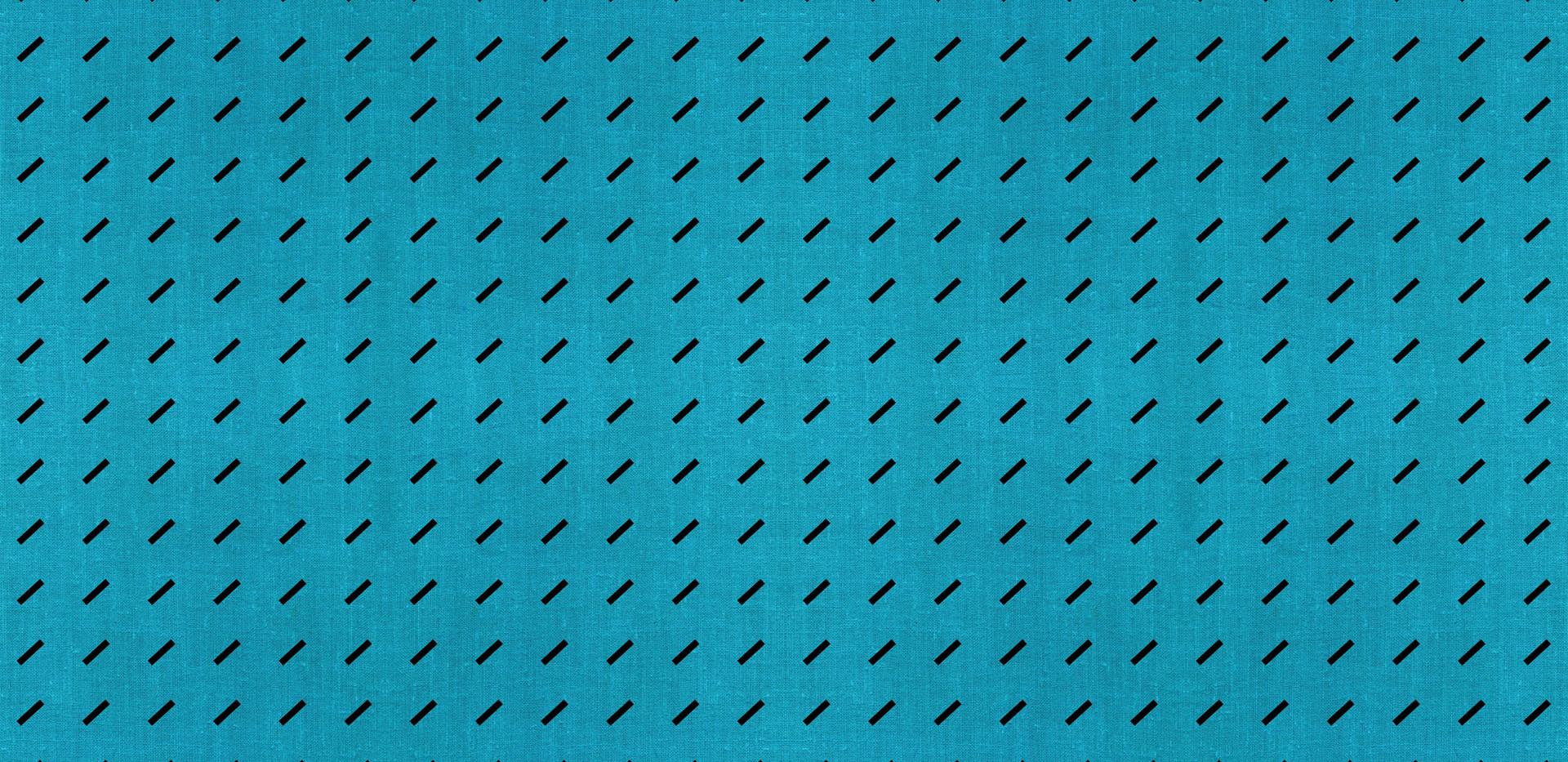 Dash Dash Linen . Turquoise