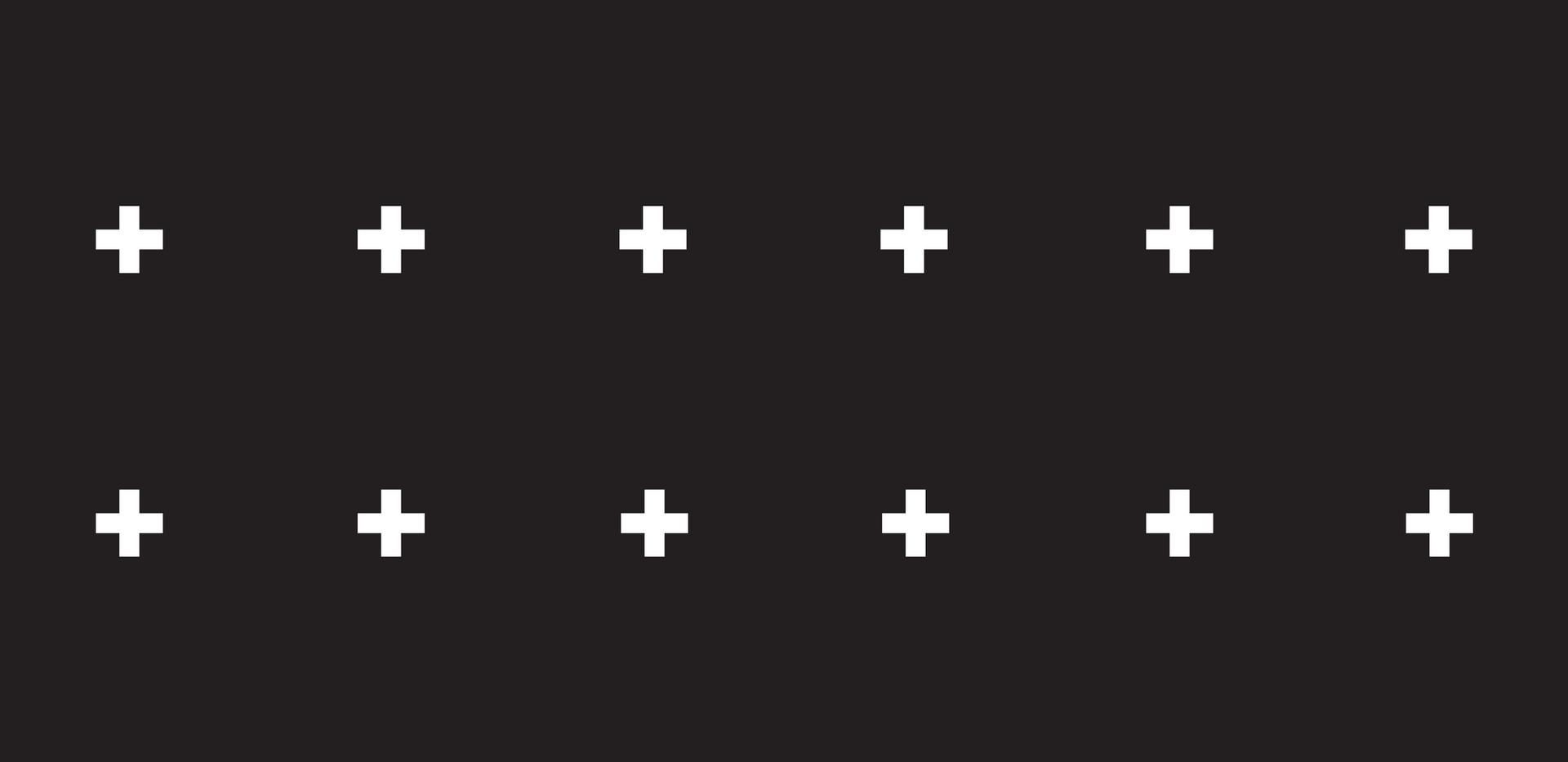 + + + . Black Onyx Plus Signs