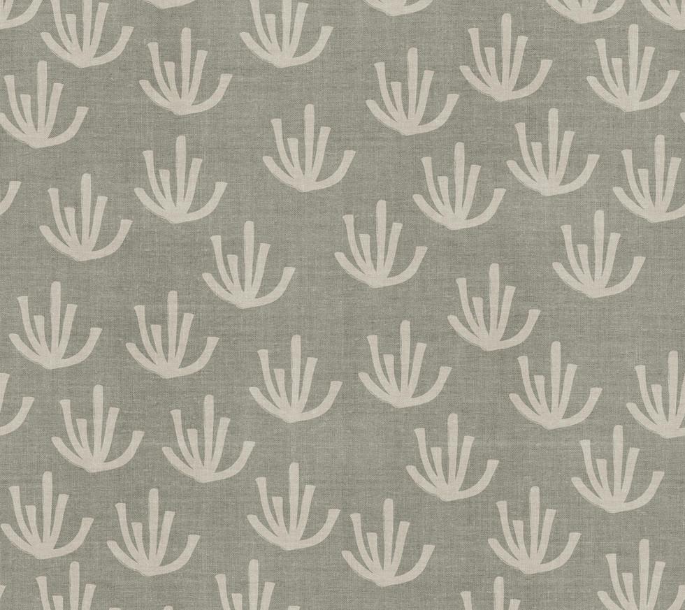 Desert Linen Mudcloth . Cacti Sage