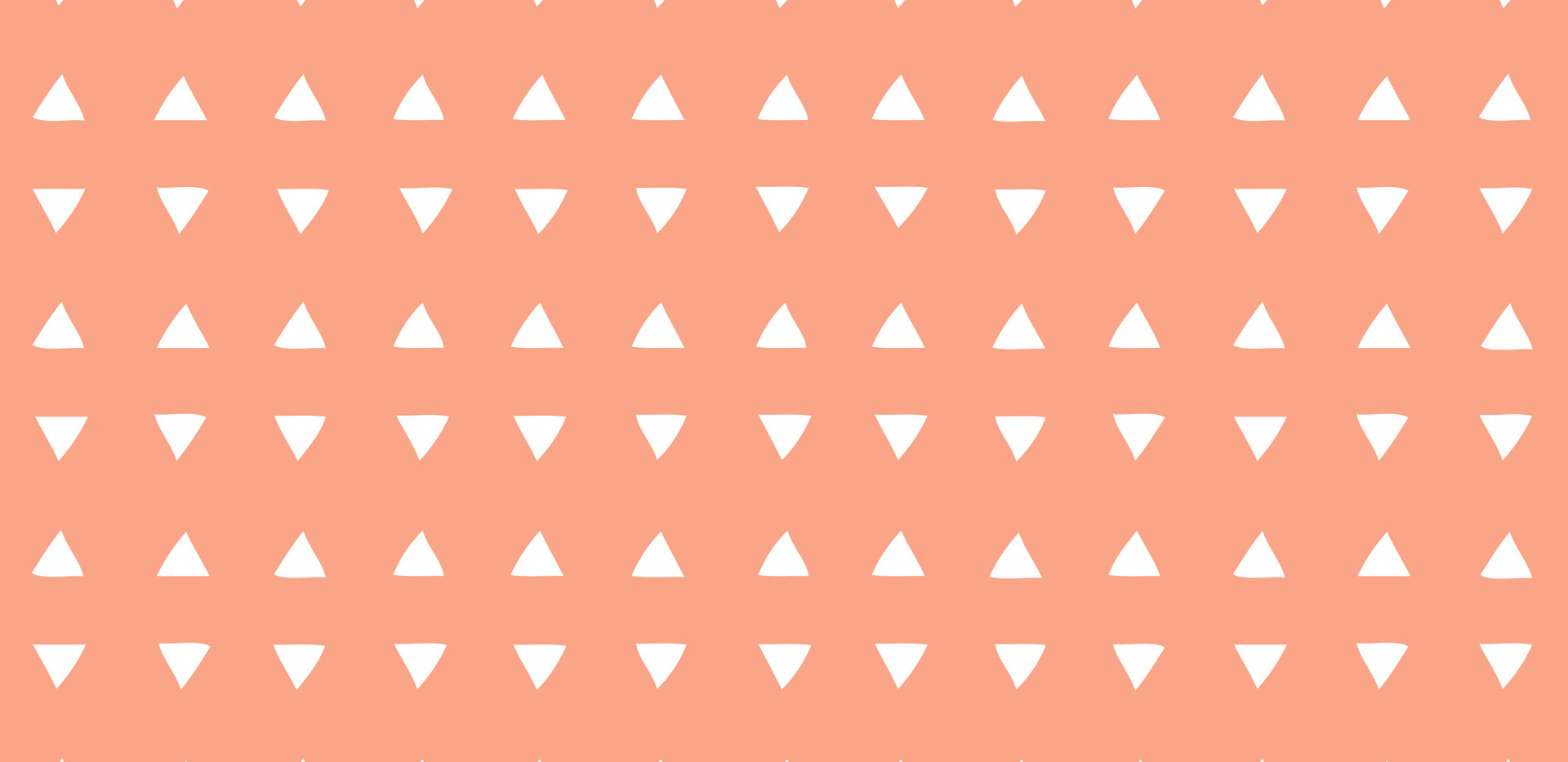 Tiny Triangles . Coral