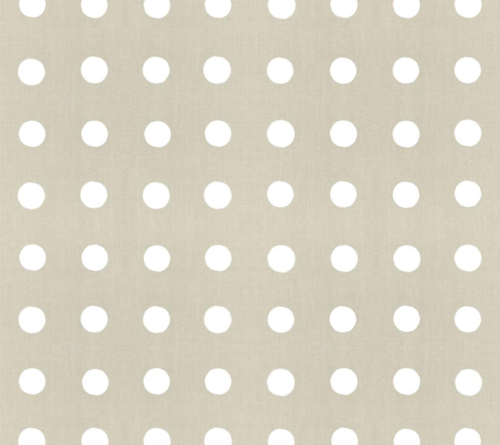 Masai Mara Linen - Cream Dots . Sand