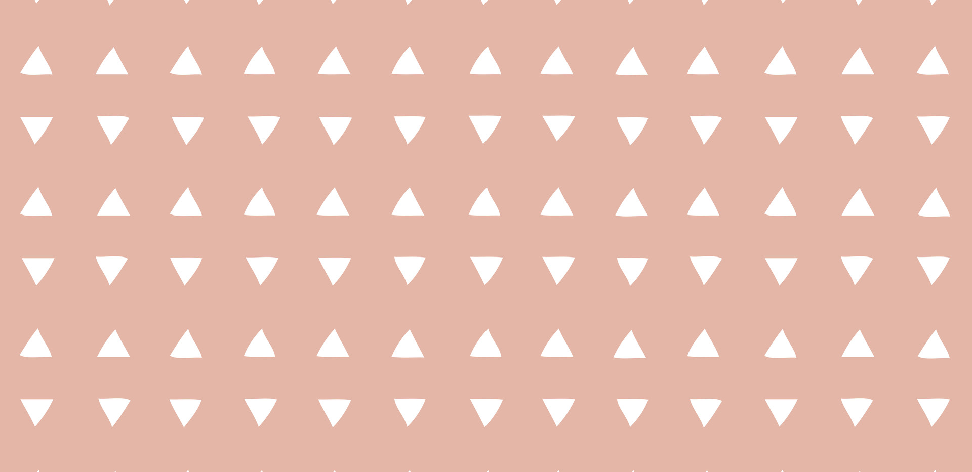 Tiny Triangles . Deco Coral