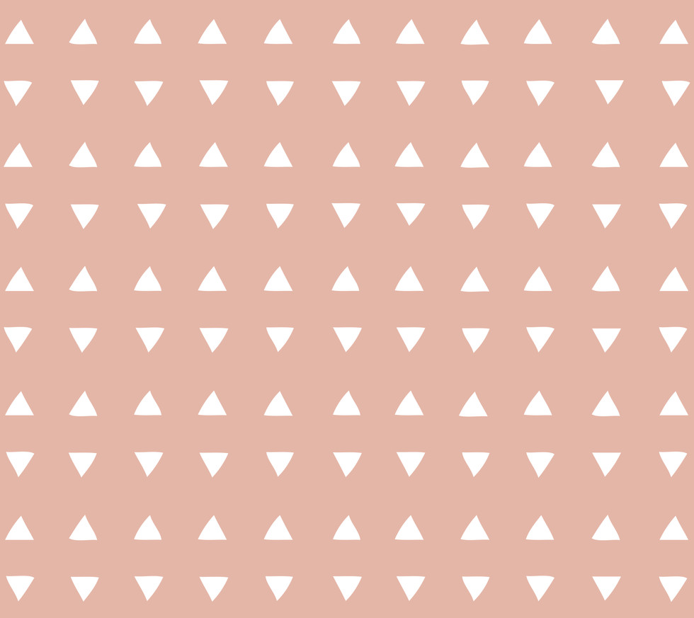 Tiny Triangles . Deco Coral