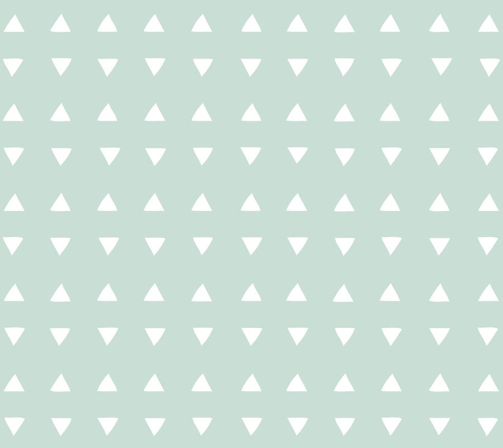 Tiny Triangles . Cool Mint