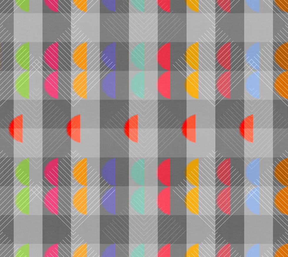 Color Block Linen . Windy Geo